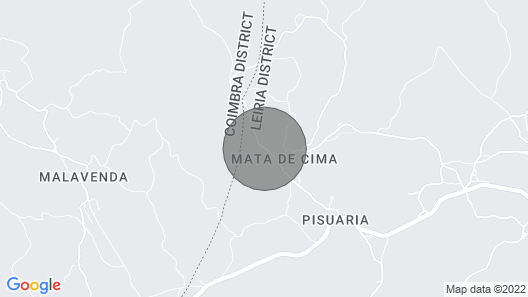Charming rural house in the Sicó mountains Map