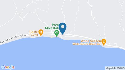 Dias Apartments Map
