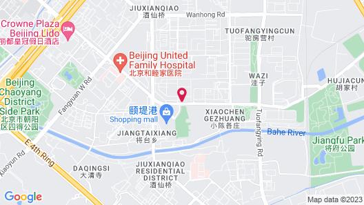 EAST Beijing Map