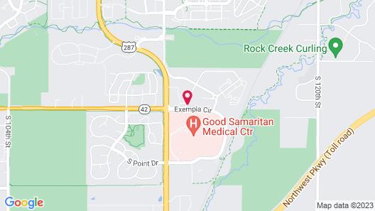 Hampton Inn & Suites Lafayette Medical Center, CO Map