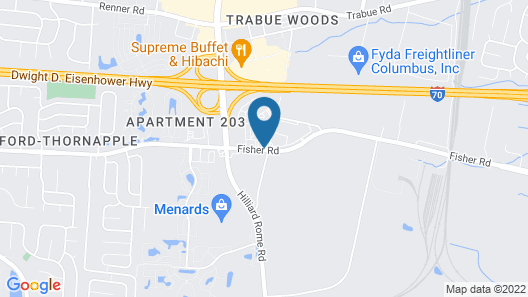 Home2 Suites by Hilton Columbus/West, OH Map