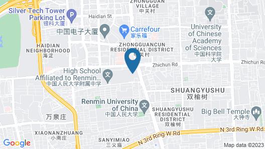 Crowne Plaza Beijing Zhongguancun, an IHG Hotel Map