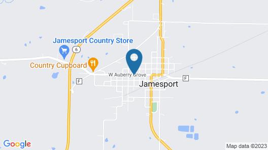 Jamesport Inn Map