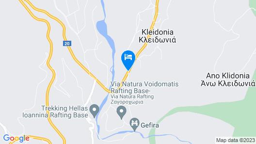 Hotel Spiridoula Map