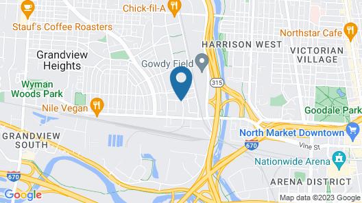 Hyatt Place Columbus/OSU Map