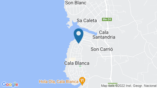 Cala Blanca Luxury Map