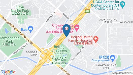 Crowne Plaza Beijing Lido, an IHG Hotel Map