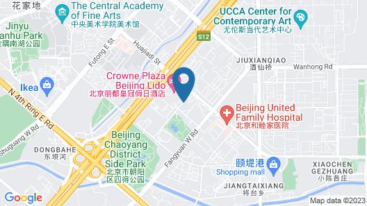 NUO Hotel Beijing Map