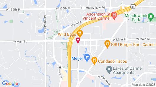 Hilton Garden Inn Indianapolis/Carmel Map