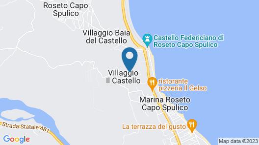 Relais Capo Spulico - Beach & SPA Map