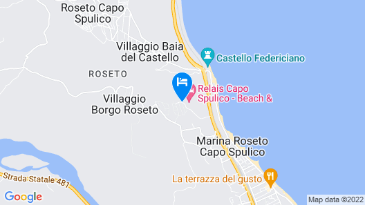 Relais Capo Spulico - Beach & SPA Map
