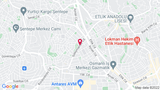 sevgipolog evi Map