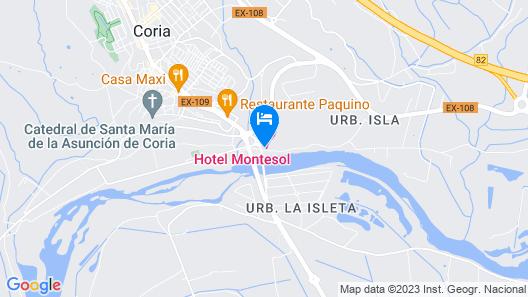 Hotel Montesol Map