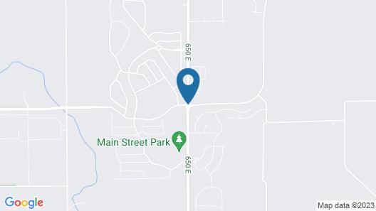 Hampton Inn Indianapolis NW/Zionsville Map