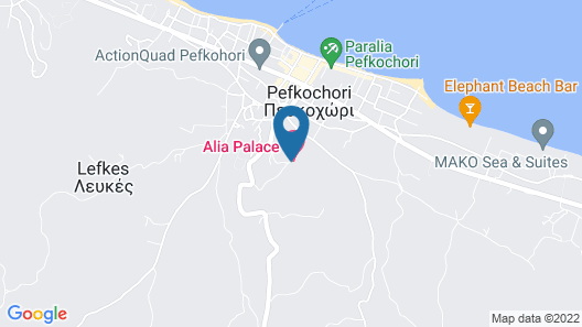 Alia Palace Hotel - Adults Only 16+  Map