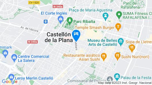 Civis Jaime I Map