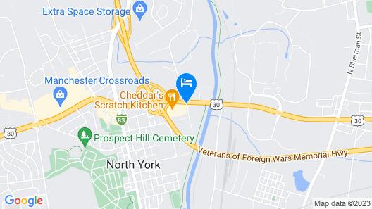 Tru by Hilton York Map