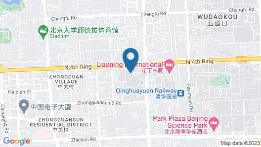 Liaoning International Hotel Map