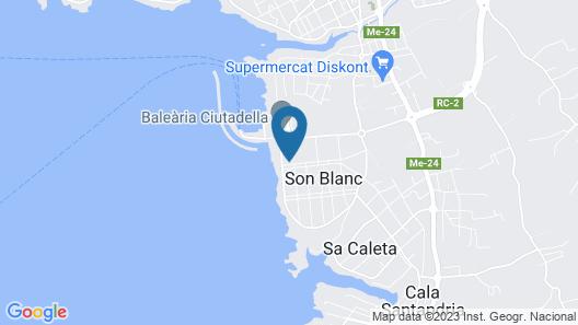 Menorca Sa Casa Vermella Map
