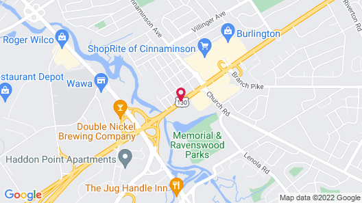 Hallmark Inn Map