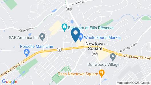 Hilton Garden Inn Newtown Square Radnor Map