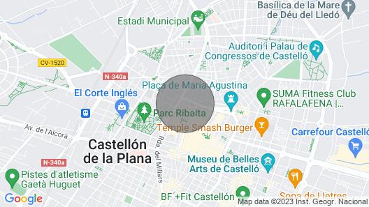 HOUSE CASTELLÓN CENTRAL  Map