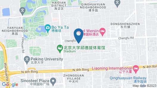 Wenjin Hotel Map