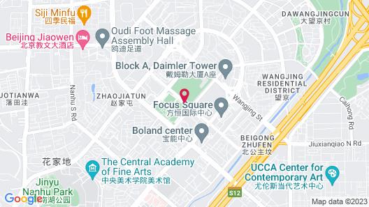 Hyatt Regency Beijing Wangjing Map