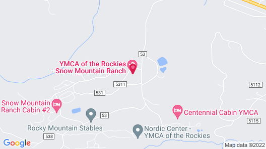 YMCA of the Rockies Snow Mountain Ranch Map