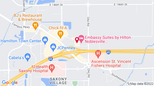 Holiday Inn Express & Suites Indianapolis NE - Noblesville, an IHG Hotel Map