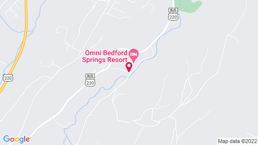 Omni Bedford Springs Resort Map