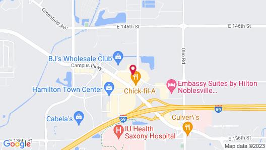 Cambria Hotel Noblesville Indianapolis Map