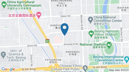 InterContinental Beijing Beichen, an IHG Hotel Map
