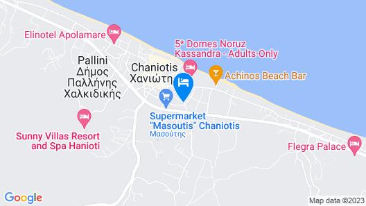 Anastasia Apartments Map