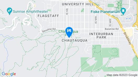 Colorado Chautauqua Map