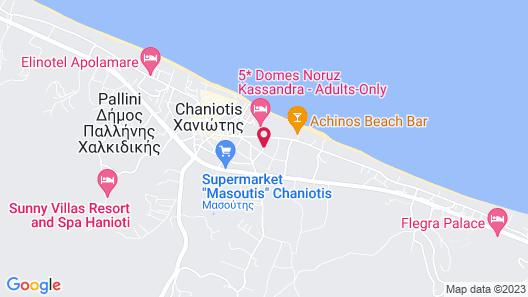 Victor-Eleni Hotel Map