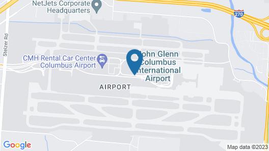 Residence Inn by Marriott Columbus Airport Map