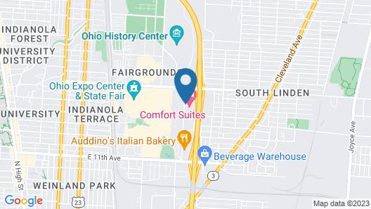 Days Inn by Wyndham Columbus Fairgrounds Map