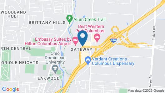 Staybridge Suites Columbus-Airport Map