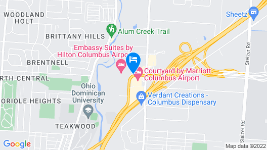 Country Inn & Suites by Radisson, Columbus Airport, OH Map