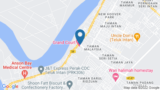 Grand Court Hotel Map