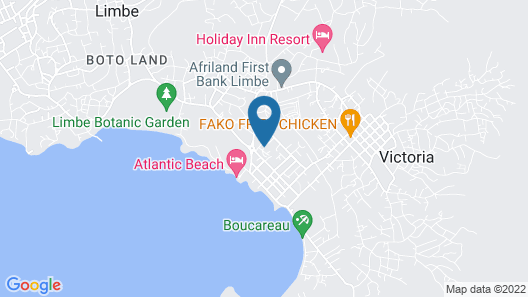 Victoria Guest House Map