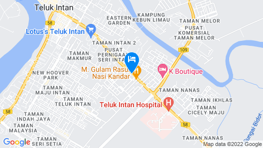 Lux Hotel Map