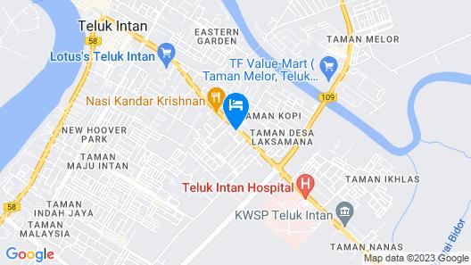 OYO 89330 Hotel Star Inn Map