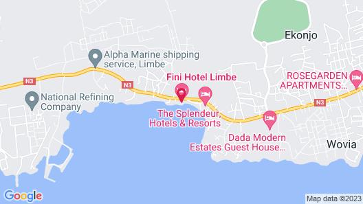 Fini Hotel Bobende Map