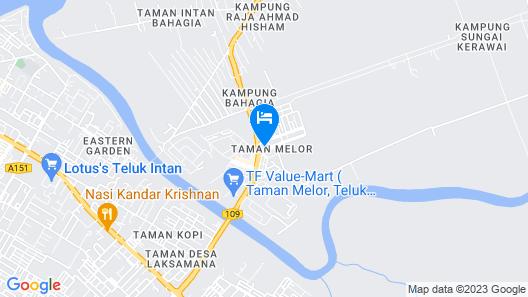 OYO 89650 Inn Hotel Map