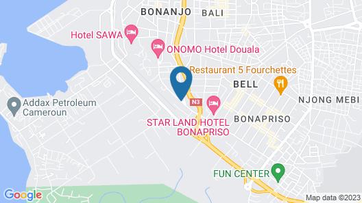 Résidence Le Carat Bonapriso Map