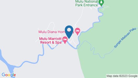 Benarat Lodge Map