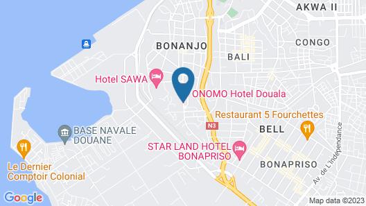 ONOMO Hotel Douala Map
