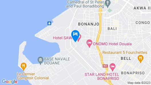 Hôtel SAWA Map